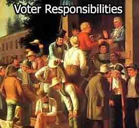 Voter Responsibilities